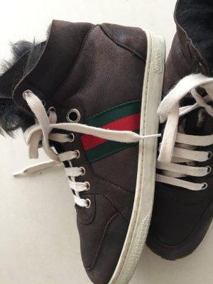 Gucci, Sneakers, Leder, Innenfutter