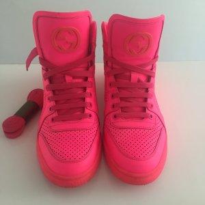Gucci Sneakers Pink neuwertig