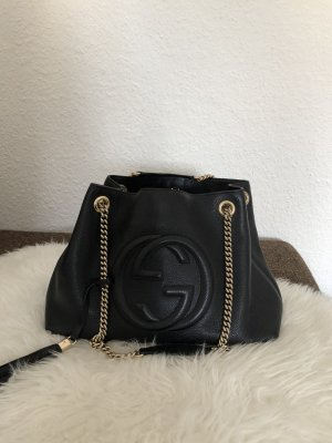 Gucci Shopper black leather