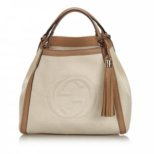 Gucci Soho Canvas Shoulder Bag