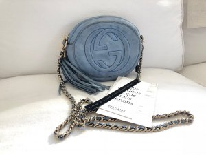 Gucci Soho Chain Bag Tasche Suede Top Crossbody Bandouliere