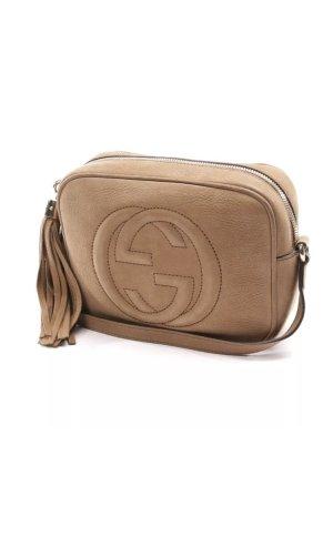 Gucci Soho Disco Bag Crossbody Leder beige braun camel nude