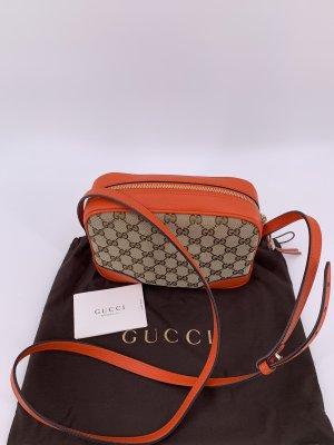 Gucci Sac bandoulière marron clair-orange