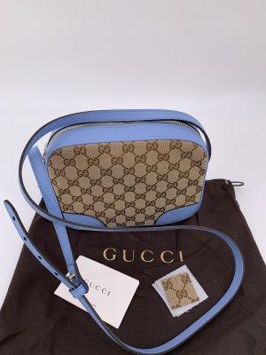 Gucci Sac bandoulière marron clair-bleuet
