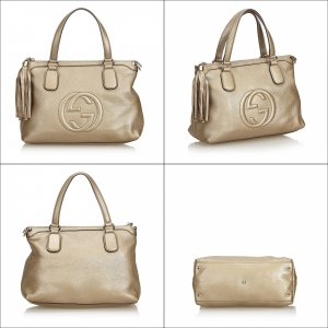 Gucci Soho Leather Handbag