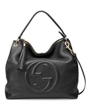 Gucci  Soho Leather Hobo Bag