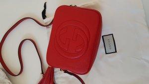 Gucci Soho Tasche Rot NEU Leder NP EUR 890
