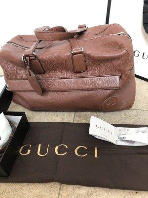 Gucci Bolso de viaje marrón