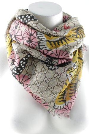 Gucci Sommerschal Monogram-Muster Elegant