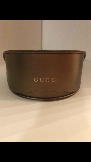 Gucci Bril zwart-bruin