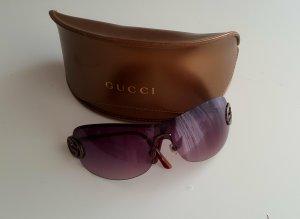 Gucci Sonnen Brile in Braun