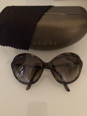 Gucci Oval Sunglasses brown-dark brown