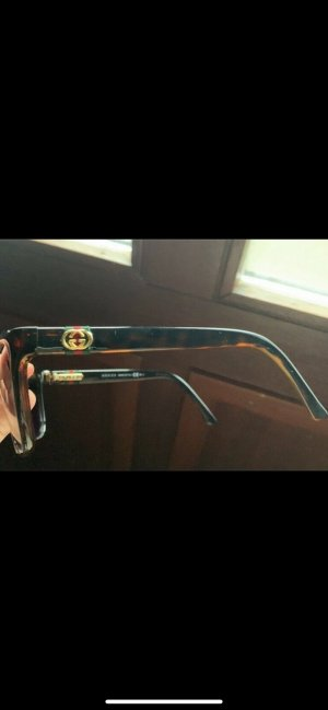 Gucci Glasses black brown-gold-colored