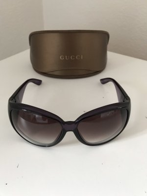 Gucci Bril bruin-paars