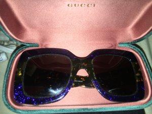 Gucci Lunettes bleu-vert