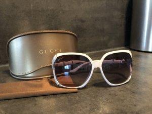 Gucci Angular Shaped Sunglasses light grey