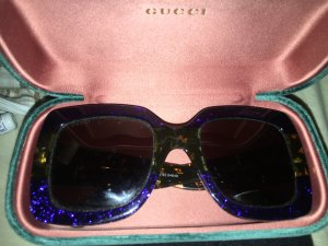 Gucci Glasses blue-green