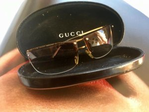 Gucci Glasses bronze-colored