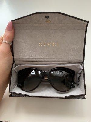 Gucci Occhiale marrone-nero-marrone scuro