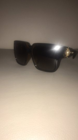 Gucci Glasses gold-colored-dark brown