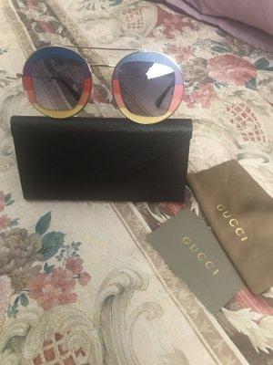 Gucci Occhiale da sole rotondo multicolore