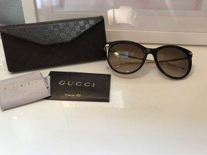 Gucci Round Sunglasses gold-colored-brown