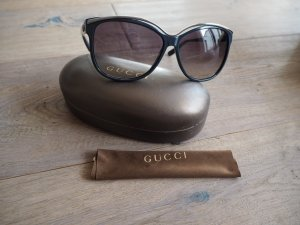 Gucci Zonnebril zilver-donkerblauw