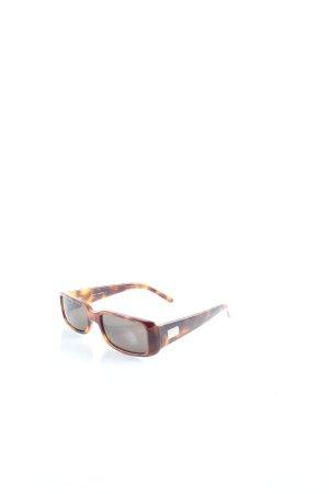 Gucci Sonnenbrille braun-dunkelbraun Retro-Look