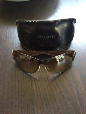 Gucci Sonnenbrille braun mit Swarovski
