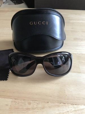 Gucci Bril donkerbruin-bruin