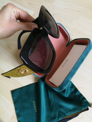 Gucci Glasses black-green grey