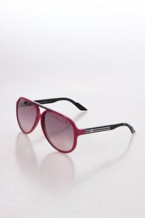 Gucci Sonnenbrille dunkelviolett-schwarz