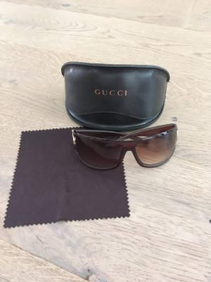 Gucci Glasses brown-cognac-coloured
