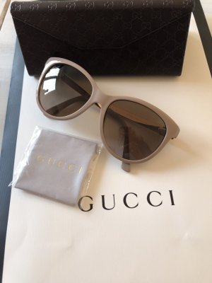 Gucci Sonnenbrille Farbe Nude mit Roségold 295€ top Zustand