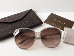 GUCCI Sonnenbrille GG 3162/S UXSK8 in Hellgrau/Weiß Braun NEU