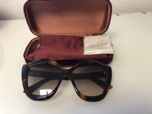 Gucci Butterfly Glasses brown