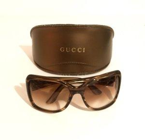 Gucci Sonnenbrille in Braun