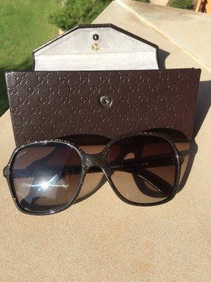 Gucci Sonnenbrille Jacky Style mit goldglitzer NP 295€