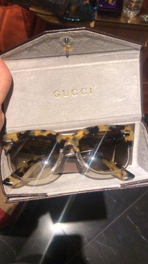 Gucci Sonnenbrille Leoparden muster