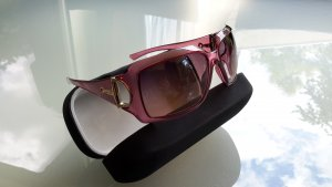 Gucci Glasses rose-gold-coloured synthetic material
