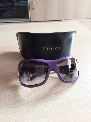 Gucci Sunglasses blue violet synthetic material