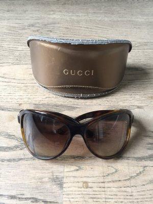Gucci Gafas de sol redondas marrón