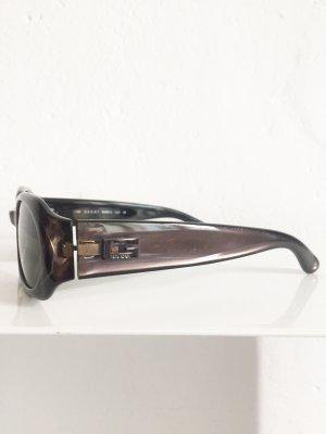 GUCCI Sonnenbrille, schmal, Anthrazit
