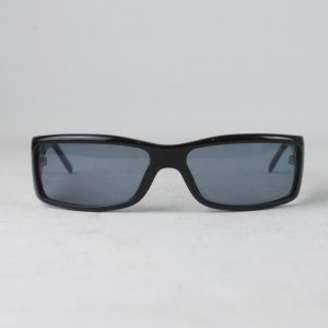 Gucci Angular Shaped Sunglasses black synthetic material