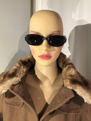 Gucci Oval Sunglasses black-anthracite