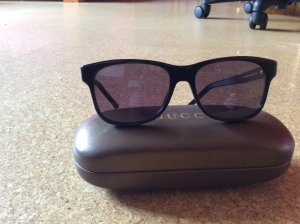 Gucci Sunglasses black-silver-colored