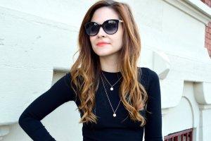 Gucci Sonnenbrille schwarz extravaganter Stil