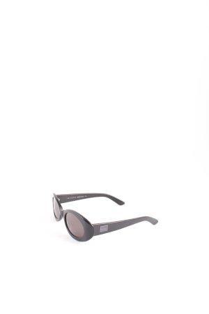 Gucci Sonnenbrille schwarz Logo-Applikation