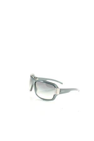 Gucci Sonnenbrille schwarz-petrol Street-Fashion-Look