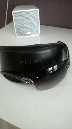 Gucci Sonnenbrille Silber